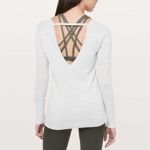 ✨NEW LISTING✨Lululemon Unity Drop Back Sweater
